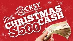 Win $500 in Christmas Cash to Help with the Holiday Spending!