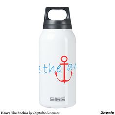 Heave The Anchor Insulated Water Bottle