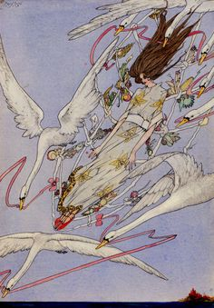 Harry Clarke......Fairy Tales by Hans Christian Anderson - one of my most prized possessions.