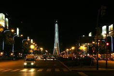 Obelisco en Navidad  Flickr - Gobierno de la Ciudad de Buenos Aires