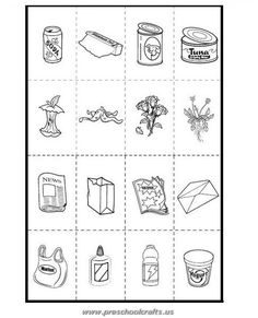 earth day recycle activities-page 2 crafts kids preschool classroom Free Printable Earth Day Worksheets for Kids - Preschool and Kindergarten Free Kindergarten Worksheets, Free Preschool, Preschool Classroom, Worksheets For Kids, Printable Worksheets, Free Printables, Earth Day Worksheets, Earth Day Activities, Recycling Activities For Kids