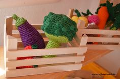 DIY Anleitung gehäkeltes Gemüse - crochet vegetables