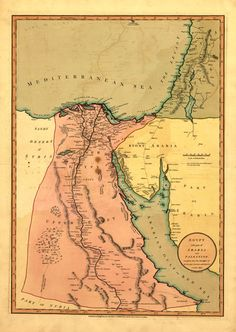 Egypt The Drawings Inside The Tombs Were Beautiful And The - Map of ancient egypt historical sites