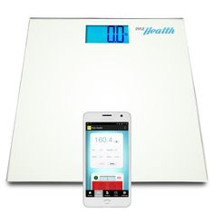 Pyle Smart Bathroom Body Scale with Bluetooth Wireless Smartphone Tracking for iPhone iPad and Android Devices (White) >>> To view further for this item, visit the image link.