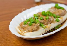Steamed Tofu with Pork Mince - Christine's Recipes: Easy Chinese Recipes | Easy Recipes