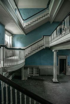 SELMA MANSION....Leesburg, Virginia....a historic property and former plantation....built in 1902....3 story Colonial Revival mansion....20 room....fell into neglect after 1999....purchased in 2016 & undergoing restoration