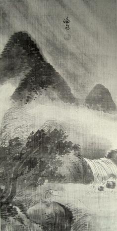 (Korea) Landscapes Folder Screens by Gyeomjae Jeong Seon ca century CE. ink on paper. National Museum of Korea. Asian Artwork, Asian Cards, Korean Painting, Great Paintings, Korean Artist, National Museum, Sculptures, 18th Century, Gcse Questions