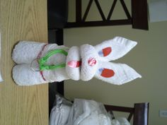 Creative folding from our Housekeepers!