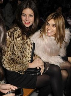 Brian's love and appreciation for Julia Restoin-Roitfeld and Carine Roitfeld knows no bounds.