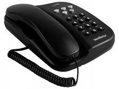 Telefone Com Fio Intelbras TC 500 - Chave Bloq. Preto com as melhores condições você encontra no Magazine Ofertassoonline. Confira!