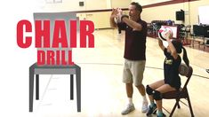 Chair drill to improve setting technique - Volleyball - Volleyball Tryouts, Volleyball Skills, Volleyball Practice, Volleyball Setter, Volleyball Training, Coaching Volleyball, Volleyball Sayings, Volleyball Motivation, Softball Drills