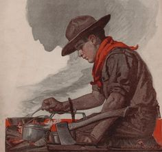 """What is our mighty theme? Read """"Traditional Scouting 101 - The Vision of the Scout"""" right now on ScoutingRediscovered.com"""