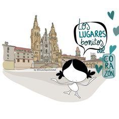 Tolosa, valle y montes. El Peine de los Vientos. Un paseo por la Ría de Bilbao. El México colorido de mis amores. ¿ Y cuál es ese lugar bonito de tu corazón? Eeeeeegunon mundo!!! #Santiago #lugares #corazón ¡¡¡Compártelo!!!