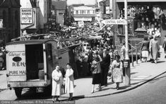 Croydon, Surrey Street 1957. Part of The Francis Frith Collection of nostalgic, historic photographs of Britain. Free to browse online today. Your nostalgic journey has begun!#francisfrith #London #Croydon