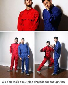 This is something, no? The poses? The jumpsuits? ;) <3