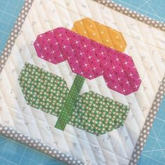 """""""ZINNIA"""" One of my favorite flowers and one of my new fall blocks that we are sewing today!!! ❤️#beeinmybonnet #scrappyhappyretreat #zinniablock"""