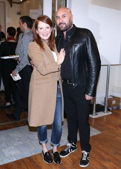 Julianne Moore and Serge Normant. See all the other celebs on the June party scene.