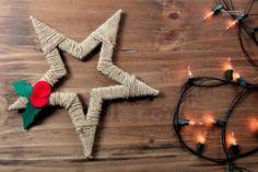 Lavoretti per bambini di Natale: stelle di filo | Lavoretti per Bambini