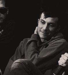 Mikey kinda smirked