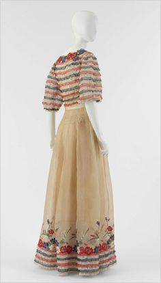 Coco Chanel 1930's evening dress