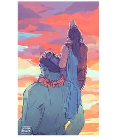 [Image: The Hulk and Valkyrie looking off into the sunset; Valkyrie is sitting on the Hulk's shoulder, her hand on his head, and she's drinking from a bottle. Marvel Dc Comics, Marvel Fan Art, Marvel Heroes, Marvel Characters, Marvel Avengers, Marvel Women, Stucky, Hulk, Lightning Strikes