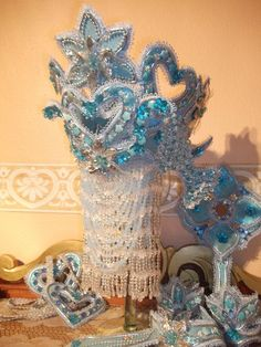 Yemaya Orisha, Asian Hair Ornaments, Mickey Mouse, Mermaid, Spirituality, Costumes, Party, Beautiful, Style