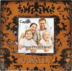 Umber Metal Photo Frame Family | Carpentree