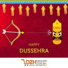 Celebrate the victory of good over evil. #HappyDussehera #feelfestive