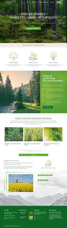 BeTheme - Eco esponsive Demo Wordpress / Респонсивный демо сайт экологической организации #theme #wordpress #responsive #eco #шаблон #сайт #вордпресс #экология