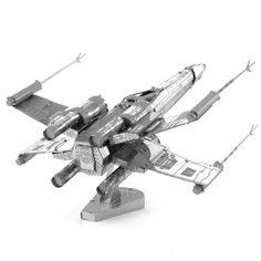 Star Wars X-wing Star Fighter Fun 3d Metal Diy Miniature Model Kits Puzzle Toys Children Educational Boy Splicing Science Hobby