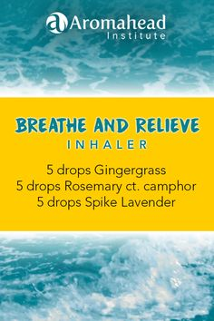 Here's an inhaler blend with Gingergrass (Cymbopogon martini var. sofia) essential oil that can clear up tension - whether it's in your head, in your muscles, or in your heart. Breathe and Relieve! Essential Oil Inhaler, Essential Oils For Anxiety, Essential Oil Blends, Pure Oils, Carrier Oils, Natural Cleaning Products, Oil Diffuser, Aromatherapy, Essentials