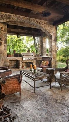 Outdoor Kitchen Designs with Roofs | Via Lalanya Lani Williams
