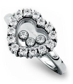 Chopard Diamond Heart Ring - Happy Diamonds Collection