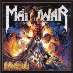All official and unofficial Manowar Album Artwork Poster Manowar Band, Hard Rock, Heavy Metal Art, Rock Cover, Hell On Wheels, Pochette Album, Extreme Metal, Metal Albums, Power Metal