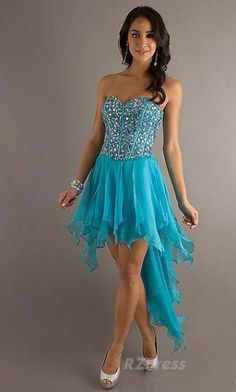 short prom dress.i love this color