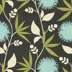 DAHLIA - THOMAS PAUL - SLATE - Thomas Paul - Newest Fabric Collections - Fabric - Calico Corners
