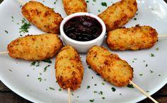 Receitas de petiscos deliciosos para receber os amigos em casa com muito charme! http://gnt.globo.com/receitas/Receitas-para-receber-em-casa--dez-opcoes-de-comidinhas.shtml#