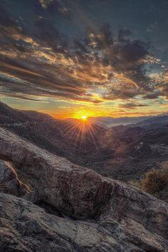 California sunrise.