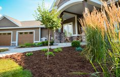 McKay Nursery client's home in Wisconsin. Landscaping front & backyard