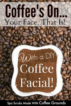 Coffee grounds contain anti-oxidant agents that help in protecting the skin of free radicals, hence decreasing the risk of skin cancer. In addition to this, the caffeine helps to tighten the pores. So, pin this to find out how to brew up your DIY coffee facial by Barbie's Beauty Bits. #DIY, #DIYbeauty, #facials