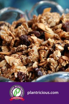 Granola - Straight Up Food Protein Bites, Dehydrator Recipes, Plant Based Diet, Vegan Vegetarian, Whole Food Recipes, A Food, Dairy Free, Engine, Power Bars