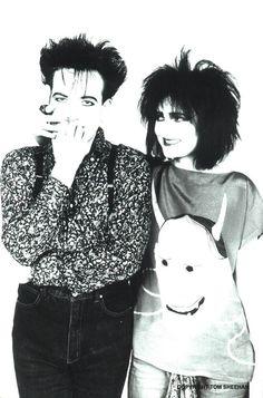 Robert Smith & Siouxsie