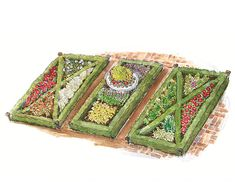 1000 ideas about french formal garden on pinterest formal gardens - 1000 Images About Garden Plans With A Formal Flavor Bhg