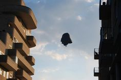 Darth Vader luchtballon in Cultuurpark Roombeek, Enschede