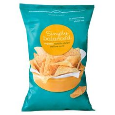 Simply Balanced Organic Yellow Corn Tortilla Chips 12 oz