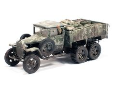 35133 GAZ-AAA Mod. 1943 CARGO TRUCK by Modeller José Brito (Portugal)