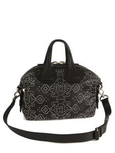 2c2ab4bb6e GIVENCHY Nightingale Small Studded Leather Satchel.  givenchy  bags   shoulder bags  hand