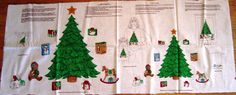 Ugly Christmas Sweater Shirt Appliqués Panel Trees Presents 2 Sizes VIP Cranston #Cranston