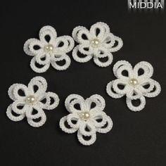 Flowers 3D white