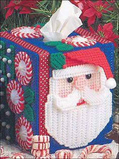 Santa tissue cover